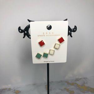 💥Fashion Earrings. 3 pair set